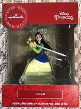 2020 Hallmark Red Box Christmas Tree Ornament Disney Princess Mulan - New
