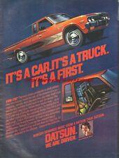 Datsun King Cab Truck 1977 Magazine Advert #1058