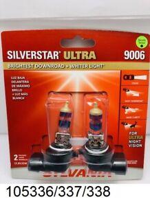 Sylvania Silverstar Ultra Headlight Bulbs 9006SU.BP2 -  2 Pack -  New