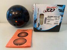 Columbia 300 Nitrous Blue / Black / Copper 12lb Bowling Ball C300 Made In USA