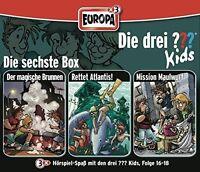 DIE DREI ??? KIDS - 06/3ER BOX-FOLGEN 16-18 3 CD NEU