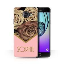 Cover e custodie opaco Per Samsung Galaxy A5 oro per cellulari e palmari