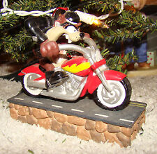 Taz on Hog Motorcyle Ornament (Looney Tunes by Midwest) 1999