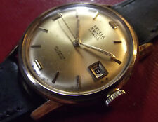 VETTA - RARE VINTAGE '60 AUTOMATIC DATE - GOLD ROLLED/S.STEEL BACK - SWISS MADE
