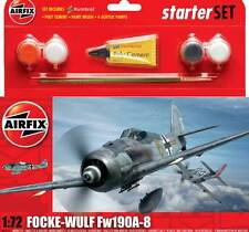 Airfix Focke-Wulf FW-190A-8 + Colla Pennello Modello kit 1:72 kit