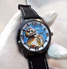 STAR WARS BB8,3D Dial,Neoprene Rubber Band BIG MANS CHARACTER WATCH,707,L@@K!