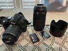 Nikon D D60 10.2MP Digital SLR Camera - Black (Kit w/ 18-55mm Lens and 70-300mm) picture