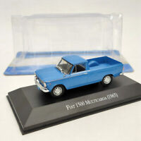 1:43 IXO Fiat 1500 Multicarga 1965 Pick Up Diecast Models Collection