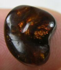 #6 5.20ct Mexico 100% Natural Raw Rough Cab Fire agate Crystal Specimen 1.00g