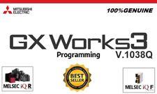 GX-Works3 V1.308Q Mitsubishi PLC Programming software & key activation GXWorks3