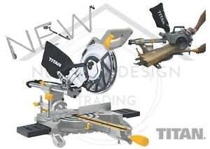 Sliding Mitre Saw Compound Electric 240V Single Bevel Chop Cut Evolution 45/45