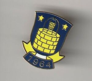 Brondby ( Denmark ) - lapel badge butterfly fitting