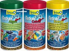 Tetra TETRAPRO MENU,COLOUR,ENERGY,ALGAE CRISPS 20G, 55G,110G, TROPICAL FISH FOOD