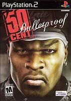 50 Cent: Bulletproof (Sony PlayStation 2 / ps2, 2005) Brand new.