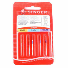 Singer Sewing Machine Needles Assorted Woven Pack of 5