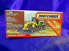 Matchbox Power Grabs Ground Grinder Mbx Construction Boxed Diecast New Release