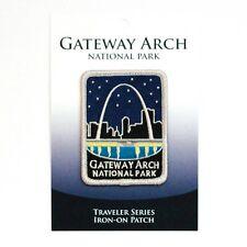Gateway Arch National Park Souvenir Patch Traveler Series St. Louis Missouri