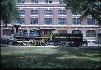 Countess Of Dufferin Steam Locomotive 1950s 35mm Slide Kodachrome Winnipeg Train