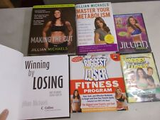 6 JILLIAM MICHAELS HC TRADE DVD BOOST METABOLISM BIGGEST LOSER WINNING CUT