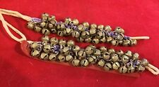 Vtg Handmade 1 Pair Professional Ghungroo Anklet Belly Dance Traditional Indian