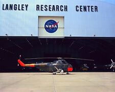 US Army Sikorsky H-19D Chickasaw helicopter at NASA Langley Center Photo Print