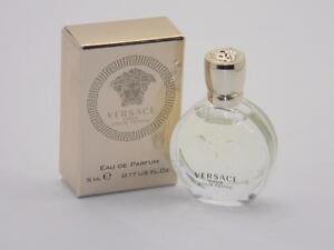 Versace Eros Pour Femme Eau de Parfum Mini Splash 5ml 0.17 fl oz New In Box