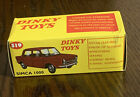 Atlas Editions Dinky Toys 519 - Simca 1000 - Turquoise Boxed
