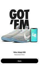 "Nike Adapt BB Grey ""AIR MAG"" Mens Size 10.5 Back to the Future Edition DEADSTOCK"