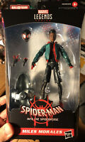 "Marvel Legends 6"" Miles Morales Spider-man Into The Spider-verse IN HAND Sealed"