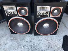 Sansui SP-X8 speakers