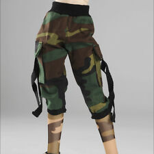 "Dollmore 17"" 1/4 BJD doll clothes MSD - Cargo seven thenths pants (Military)"