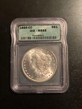 1885-CC Morgan  $1 ICG Graded MS65