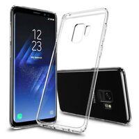 Cover Handyhülle Samsung Galaxy S9 Hülle Case Silikon Slim Schutz Transparent