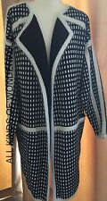 Essentiel Kaleela Long Cardigan either Monchorme or Olive/Blue RRP£215 BNWT