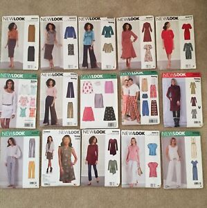 New Look Womens Patterns New Uncut Lot of 15