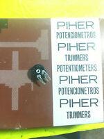 Piher Carbon Trimmers Multiple Values 10 Pieces NEW