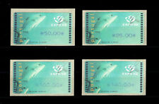 1998 Portugal ATM Af#15 Expo98 MNH Complete Set. Dolphin. Sea.