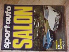 $$$ Revue Sport auto N°105 Special SalonCitroen SMRenault Gordini