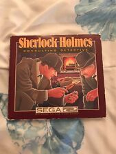 Sherlock Holmes: Consulting Detective (Sega CD, 1992) & Sega Classics (2 Disk)