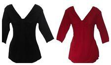 Wallis V Neck Tunic, Kaftan Casual Tops & Shirts for Women