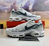 Nike Men's Size 13 White Air Max Plus SE Running Shoes BV7826-100