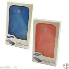 Genuine Samsung Galaxy S3 Transparent Protective Case Cover BLUE PINK NEW