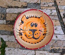 CIOTOLA Ciotola per gatto ciotola ciotola per gatti ceramica fatto a mano rosso