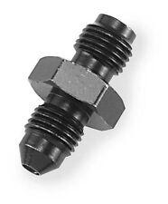 Goodridge Brake Adapters, Straight 3/8in.-24 I.F. x #3 - Black