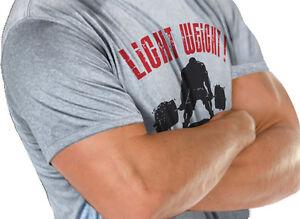 Light Weight Powerlifting Crossfit Sport Kettlebell Training T- Shirt