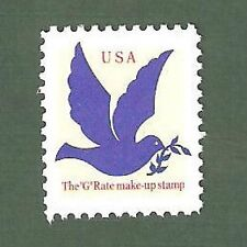 2877 Rate Make Up Stamp US Single Mint/nh (Free shipping offer)