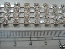 Rhinestone Chains with settings, Rhinestone Belt Body