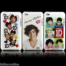 3 x Mixed Design One Direction Hard Back Cases for iPod Touch 4 - 4th Gen