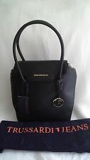 Trussardi Jeans Shoulder Bag - Black - BRAND NEW & Includes Dust Bag