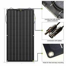 Solar Panel 400w Flexible Photatic Pv Monocrystalline Cell 24V Charger Home Kits